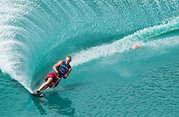 water skiing with sharm paradise