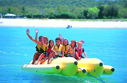 banana boat excursion in shar el sheikh