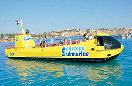 semi submarine sea tour sharm el sheikh