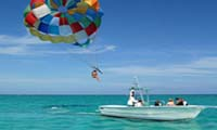 parasailing at sharm public beaches