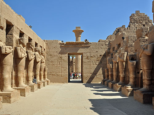 karnak temple luxor trip by air