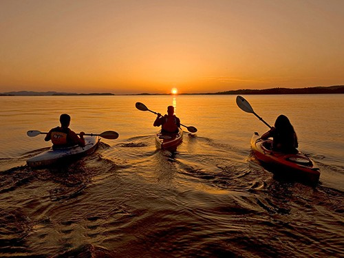 kayaking sunset sharm el sheikh
