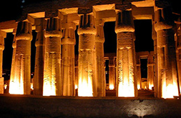 luxor sound light show by plane trip from sharm
