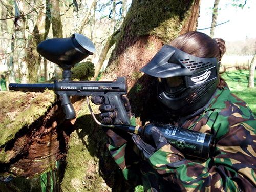 paintballing with sharmers-day trips