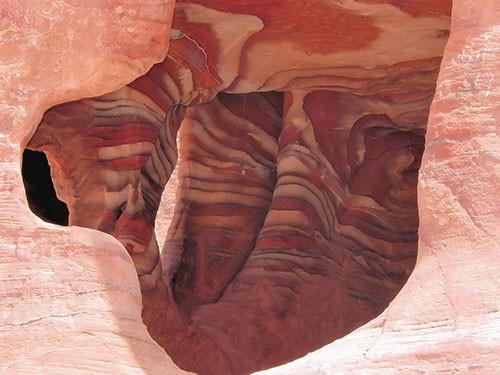 petra canyon of siq excursion