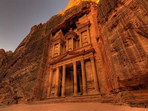 petra excursion by air from sharm