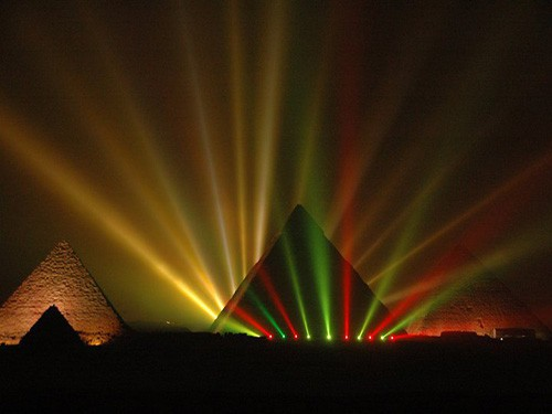 sound and light show in cairo egypt with sharmers