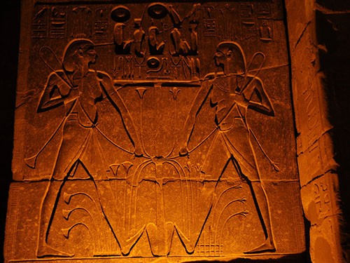 trips toTemple of Luxor Hieroglyphics