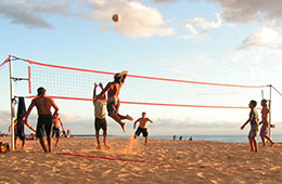 beach volley ball