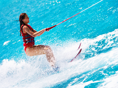 water skiing with sharmers in sharm el sheikh 3