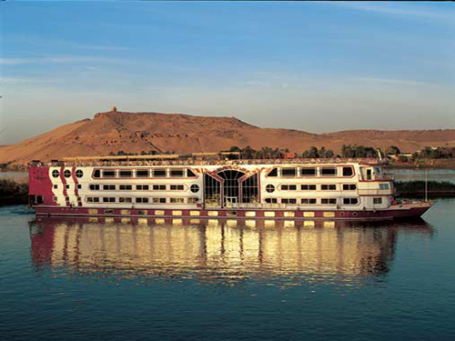 nile cruise excurions in luxor