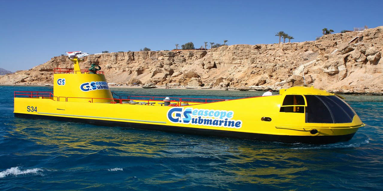 sharm semi submarine excursions in sharm el sheikh