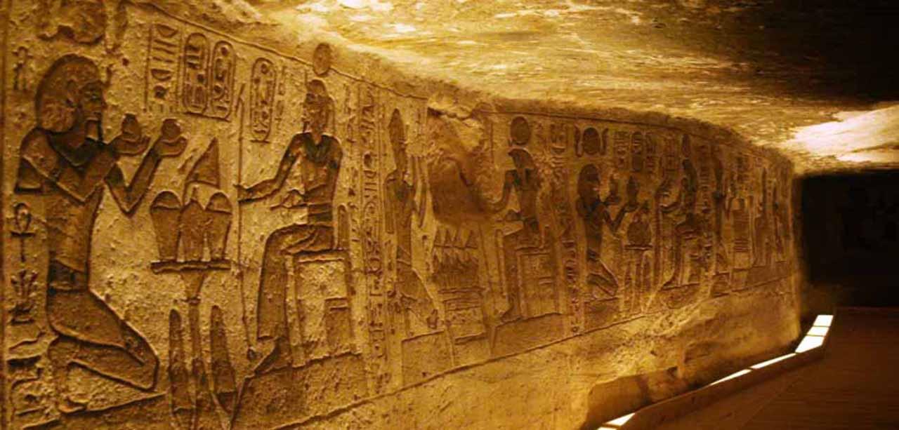 Inside the pyramids of Giza Cairo